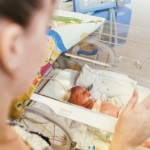 Portrait,Of,Premature,Newborn,Baby,Sleeping,In,Incubator,,,Icu.