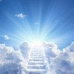 Stairway,Leading,Up,To,Heavenly,Sky,Toward,The,Light
